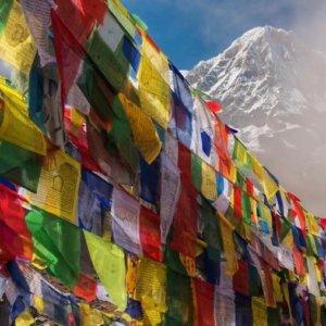 drapeau Tibétain